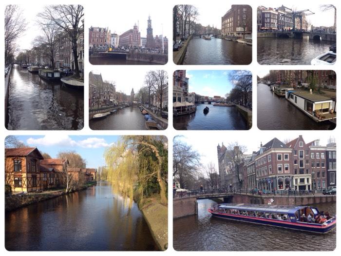 世界遺産! アムステルダム環状運河地区。