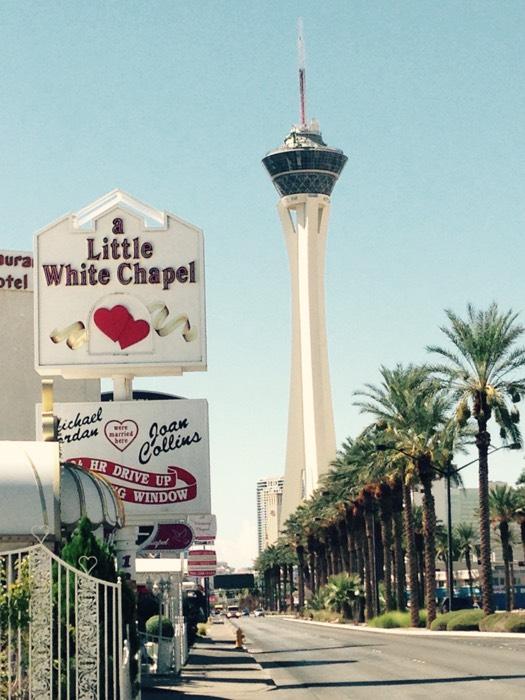 ラスベガスのストラトスフィア タワー。