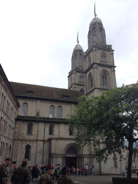 グロスミュンスター大聖堂。