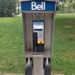 トロントの公衆電話。