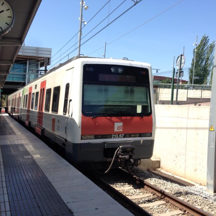 鉄道 in バルセロナ。