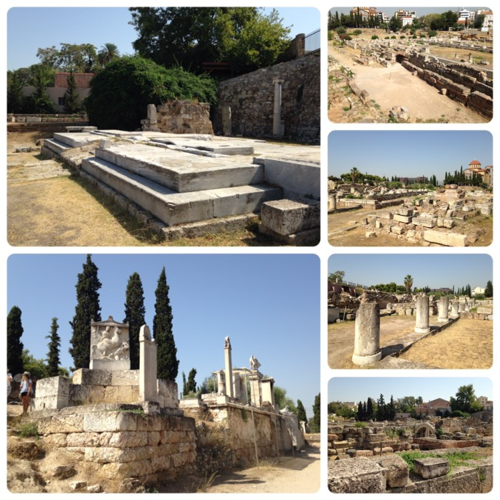 ケラメイコスの古代墓地。