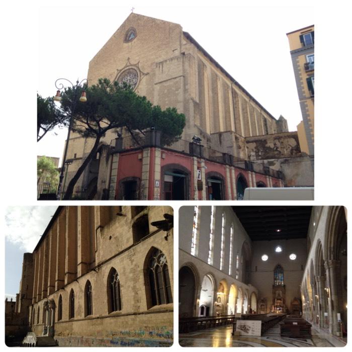 ナポリのサンタチアラ教会。