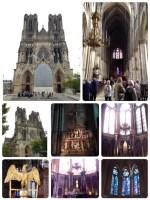 フランク王国のクロヴィスが洗礼を受けたとされることから、歴代のフランス王たちの戴冠式が行われて来た大聖堂です。