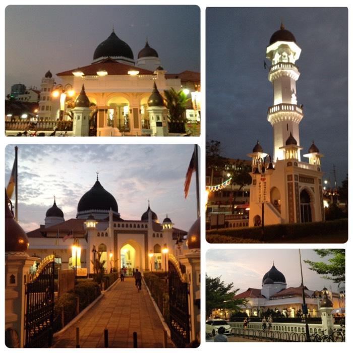 ペナン島のカピタン クリン モスク。
