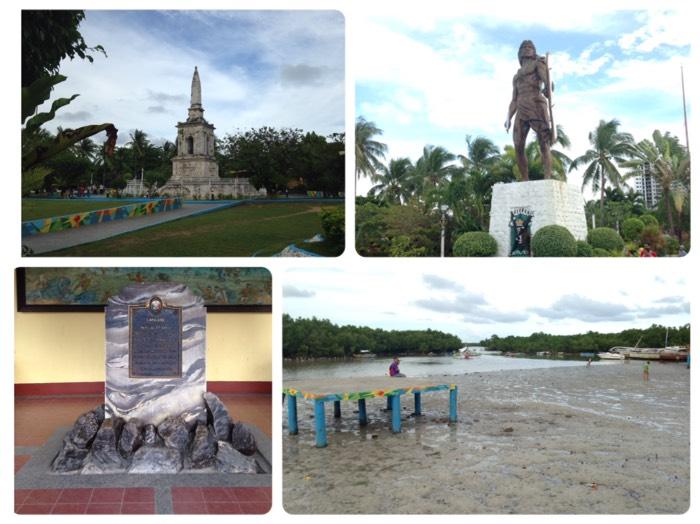 セブ島のマゼラン記念碑&ラプラプ像。