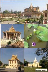 プノンペンにある、カンボジア王国の国王の居住地(宮殿)です。