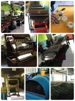 スリランカの紅茶工場