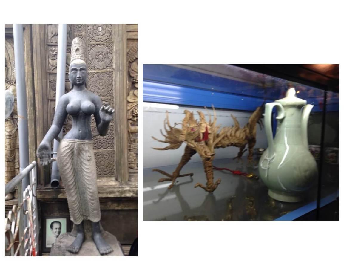 ガンガラーマ寺院の一押し展示品