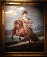 皇太子バルタサール・カルロスの騎馬像