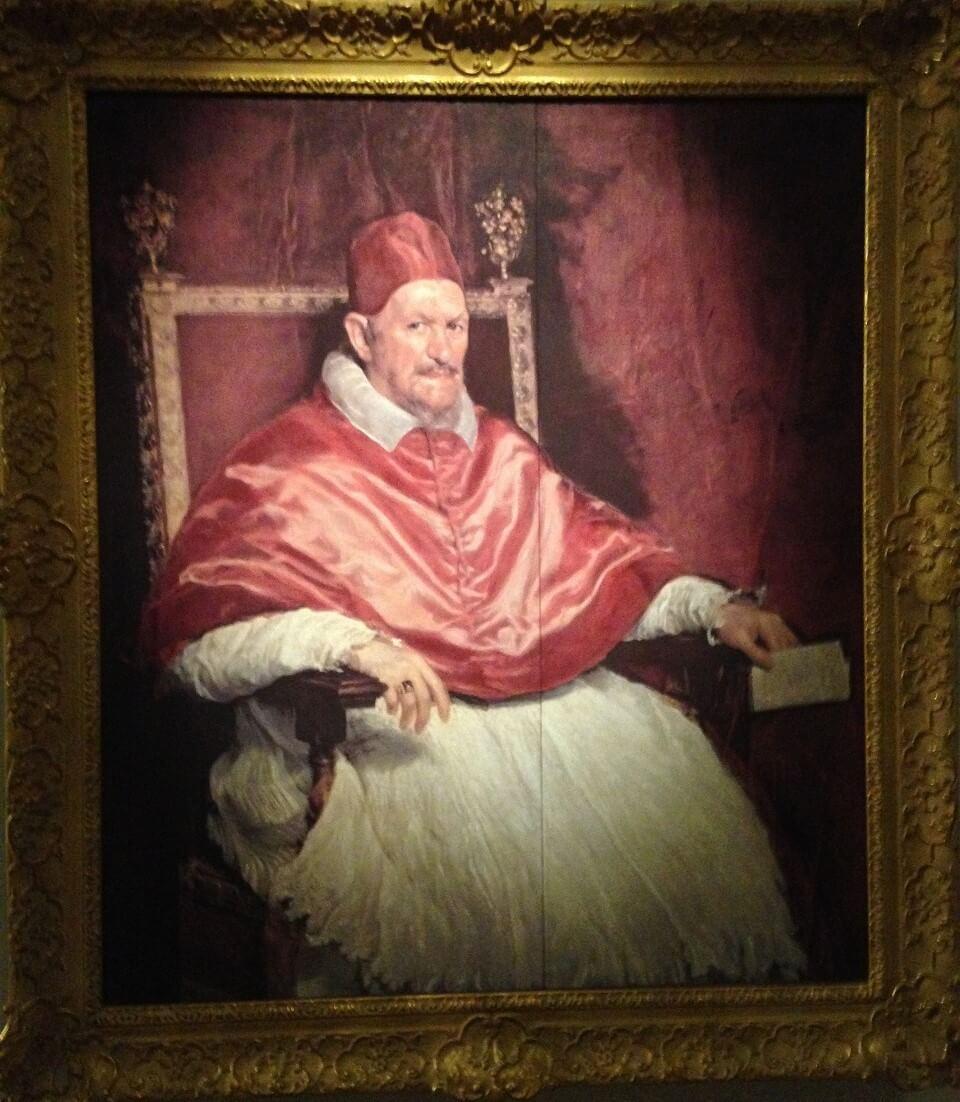 教皇インノケンティウス10世の肖像