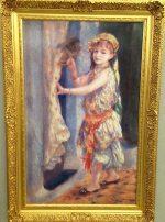 アルジェリア風の衣装を着たフルーリ嬢 オーギュスト・ルノワール