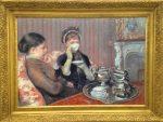 一杯のお茶 メアリー・カサット