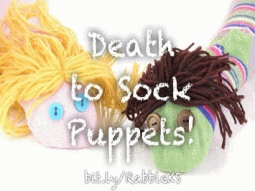 Rabble Reads: Death to Sock Puppets