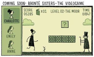 Tom Gauld, author of You're Just Jealous of My Jetpack
