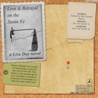 Love & Betrayal on the Santa Fe - Lisa Day