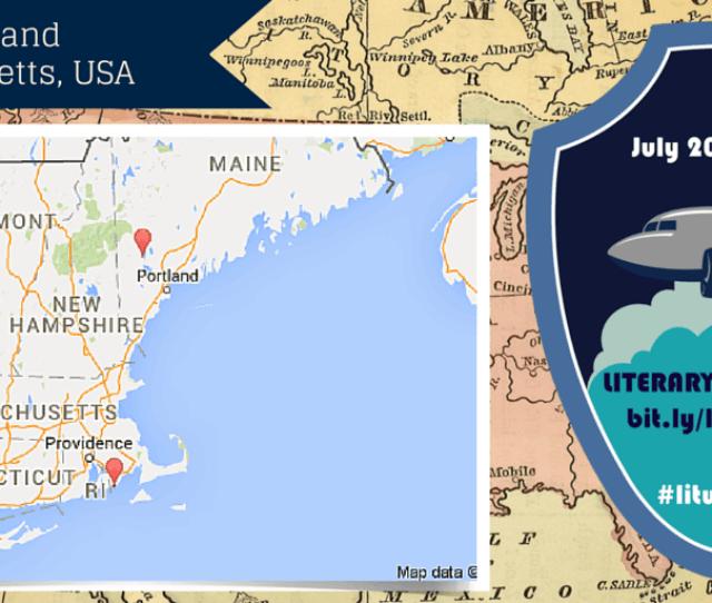 Literary World Trip Maine Usa And Massachusetts Usa