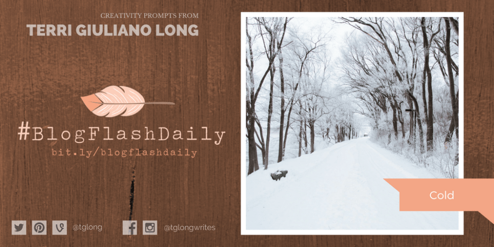 #BlogFlashDaily Creativity Prompt: Cold