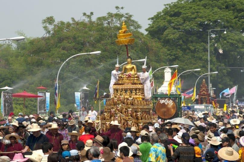 タイ正月 ソンクラーン
