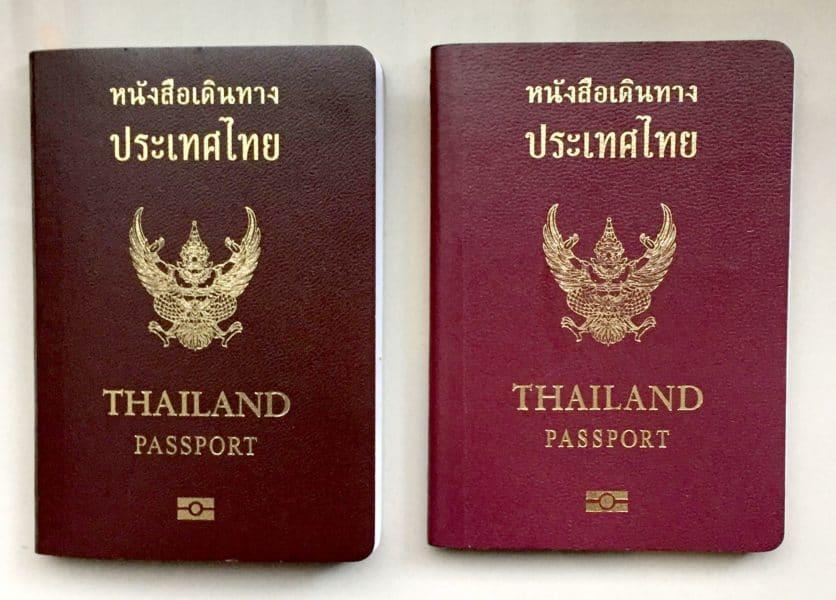 タイ人がビザなしで渡航できる国は2年間で31カ国から72カ国まで増えていた