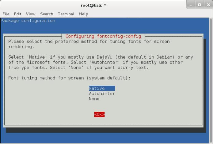 enable subpixel rendering for screen