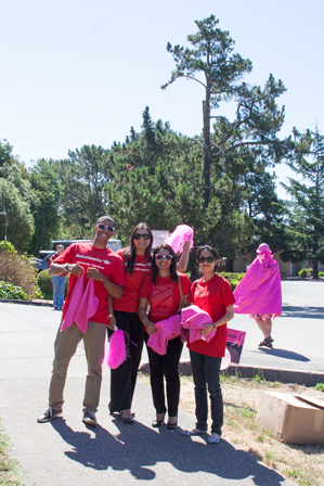 bank of america 2013 San Francisco Susan G. Komen 3-Day breast cancer walk