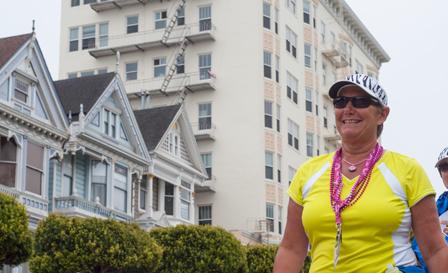 pink ladies 2013 San Francisco Bay Area Susan G. Komen 3-Day breast cancer walk