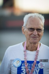 George N. of Clawson, MI starts his 30th Susan G. Komen 3-Day® in Cleveland, OH