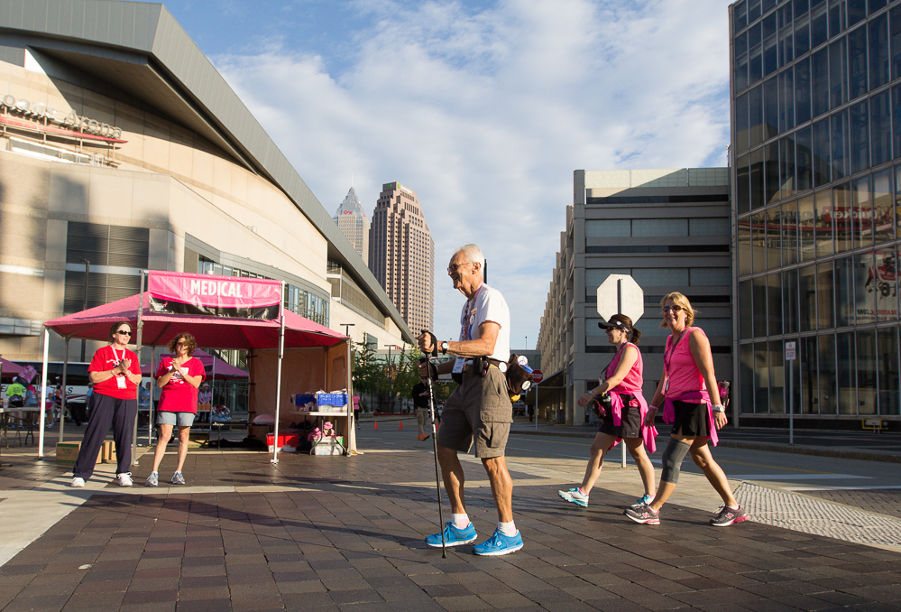 day one 2013 Cleveland Susan G. Komen 3-Day breast cancer walk