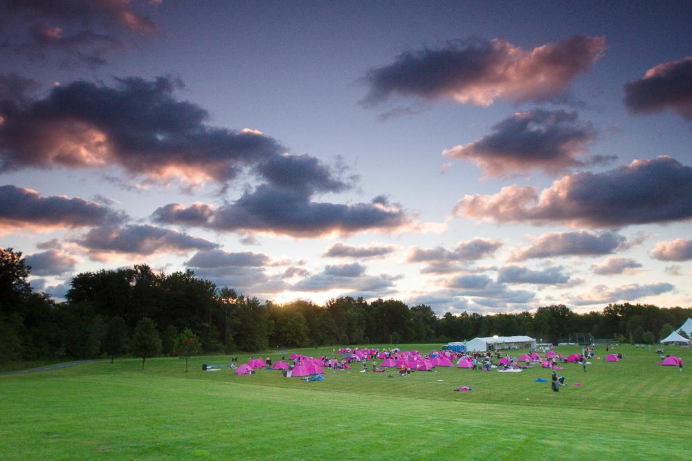 pink tent camp 2013 Cleveland Susan G. Komen 3-Day breast cancer walk