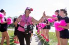high five 2013 Chicago Susan G. Komen 3-Day breast cancer walk