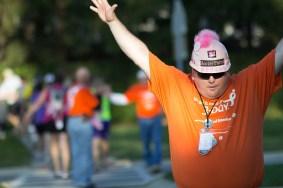 safety crew man 2013 Michigan Susan G. Komen 3-Day breast cancer walk