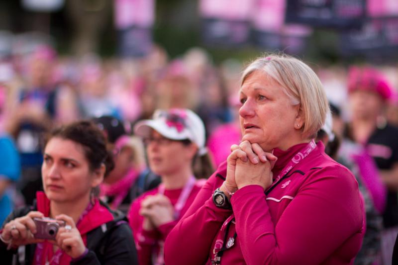opening 2013 Seattle Susan G. Komen 3-Day breast cancer walk