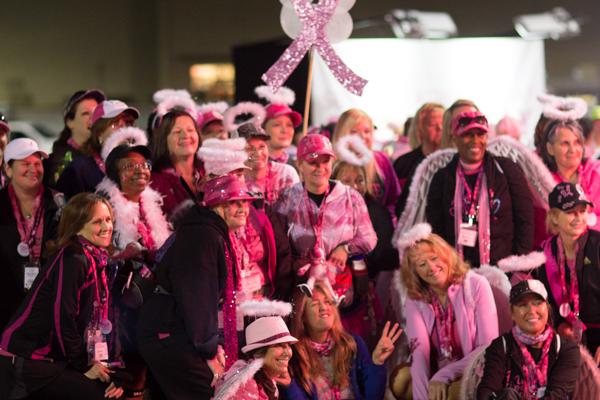 pink ribbon team 2013 Dallas Fort Worth Susan G. Komen 3-Day breast cancer walk