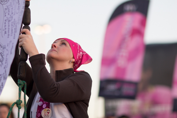 raise the flag 2013 Dallas Fort Worth Susan G. Komen 3-Day breast cancer walk