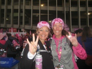 Komen 3-Day breast cancer walk team girlapalooza friends