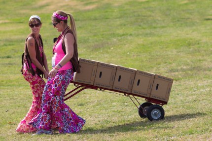 susan g. komen 3-Day breast cancer walk crew volunteer pit stop