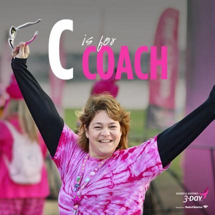 Susan G. Komen 3-Day Coach Breast Cancer Walk