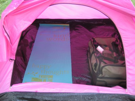 susan g. komen 3-day breast cancer walk blog camping hacks yoga mat sleeping pad