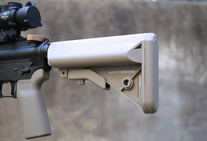 B5 Systems AR-15 stock, tan