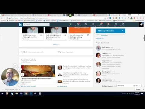 The New LinkedIn Profile (VIDEO)