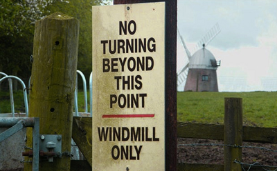 A Windmill that can t turn that s sad
