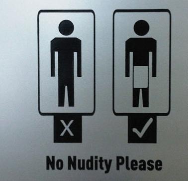 Abu Dhabi where modesty is a loincloth