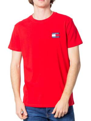 Rent Red Tommy Jeans T-Shirt