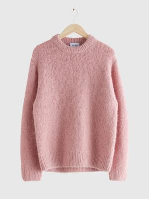 & OTHER STORIES OVERSIZED WOOL KNIT JUMPER