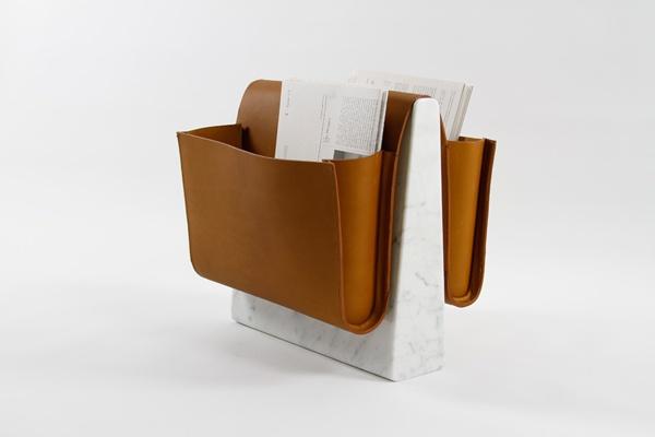 noble wood saddle magazine rack