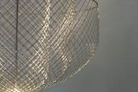 Chandeliers of Chicken Wire by Rick Tegelaar