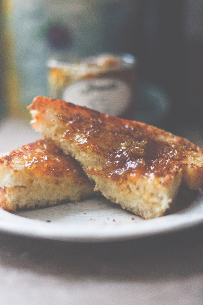 The Everyday Chef and Wife Grilled Cheese with Fig Jam