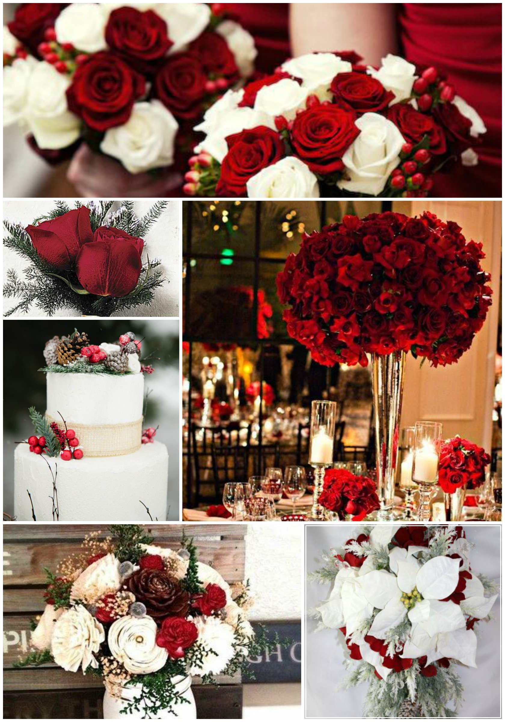 christmas flower wall, christmas wedding, winter wedding, red wedding, floral backdrop