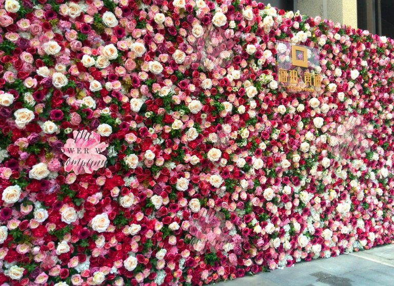Flower Wall Rental 2